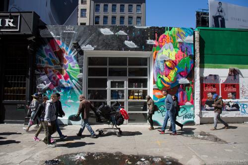 thedustyrebel:Dasic SoHo, NYCMore photos: Dasic Fernández, Street Art