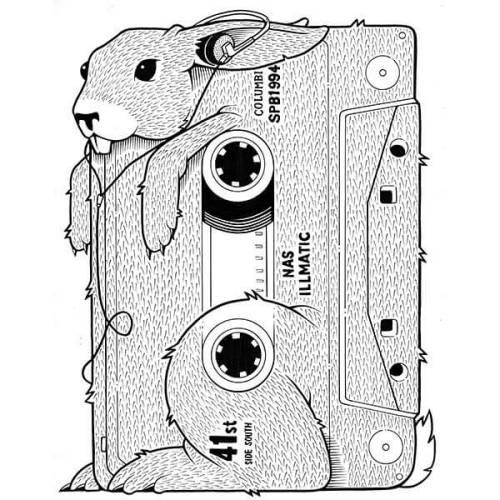 noisemx:  Jeremy Fish - Illmatic.