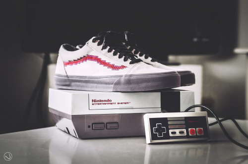 sweetsoles:  Nintendo x Vans Old Skool 'Console' (by iconicksoles)