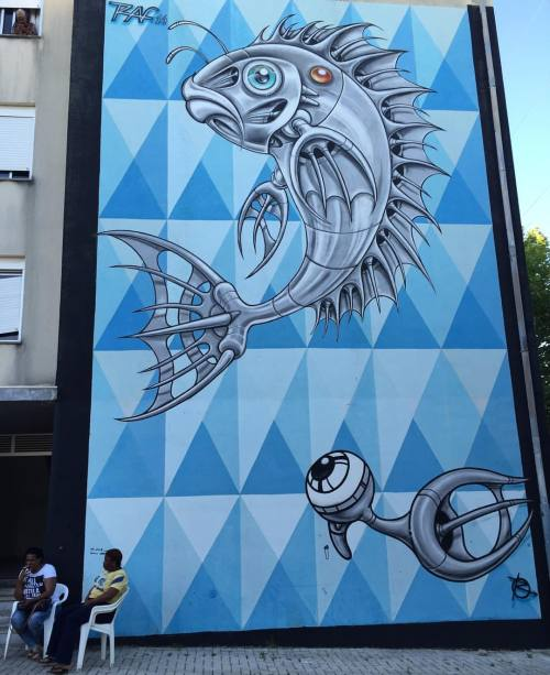 streetheart-serendipity:  🔹Fish eye 🐟👀🔹Work by #raf @louresartepublica#streetart #art #lisbonne #lisboa #lisbon #lisbonstreetart #lisboastreetart #lisbonnestreetart #streetartlisboa #streetartlisbon #streetartlisbonne #urbanart #graf #arteurbano #arteurbana #streetartloures #louresstreetart #mural #loures #louresartepublica #streetartfestival #quintadomocho #tv_strideby #imjustpassing #peoplewalkingpastwalls