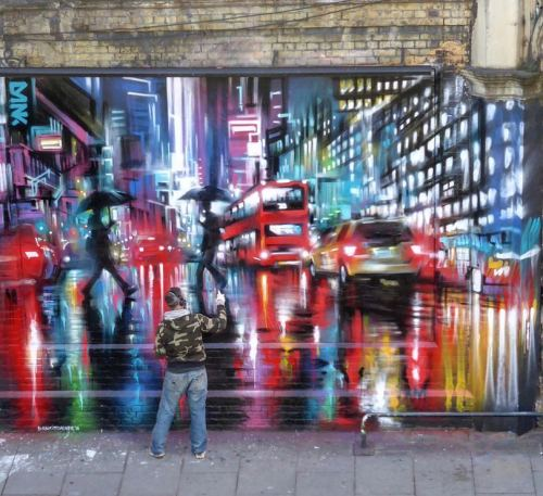 streetartglobal:By @dankitchener in Shoreditch, London / Support from @ldn_calling_blog (http://globalstreetart.com/dank) https://www.instagram.com/p/BB9dfmIgEJv/