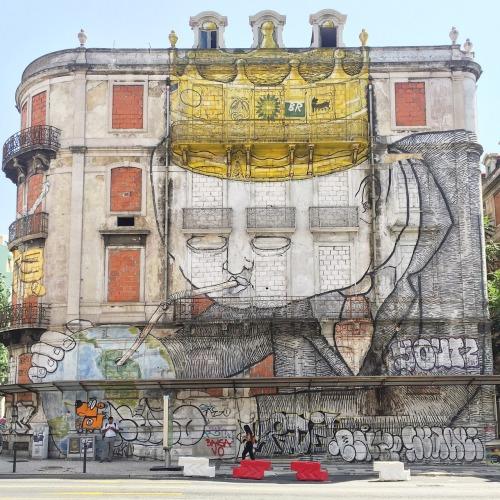 impermanent-art:  Blu in Lisbon.