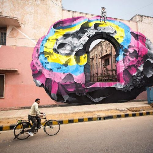 artmoi:  @nevercrew for @startindia St+ArtDelhi in New Dehli / photo by @nevercrew
