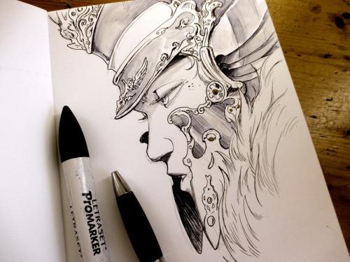 coliandrium:Drawing in Sketchbook vol.1 (you can find it here: http://ift.tt/2aDSxlI )#sketchbook #DedicatedDrawing #fantasy #artoninstagram #Coliandre #XavierCollette #Facebook http://ift.tt/2b0Ufkh