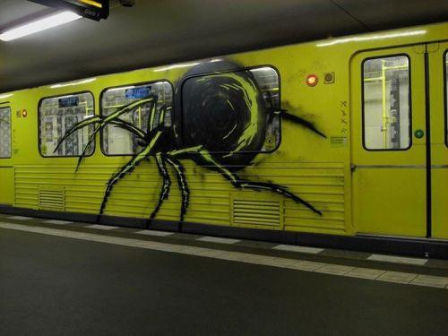 graffitiberlinblog:  Spider TBA