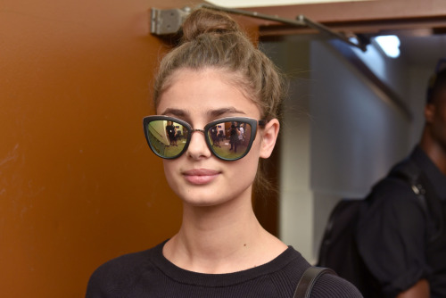fuckyeahcelebs: September 15, 2016: Taylor Hill backstage at