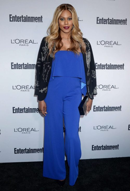 dailyactress: Laverne Cox – 2016 Entertainment Weekly Pre-Emmy