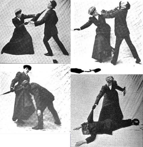 "muirin007: "" willowclove: "" Miss Sanderson and the womanly art of parasol self defence "" This is everything I have ever wanted in a photo set ever. """