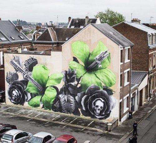 barbarapicci:  (via Streetart News [wall 470] - Ludo in Francia)