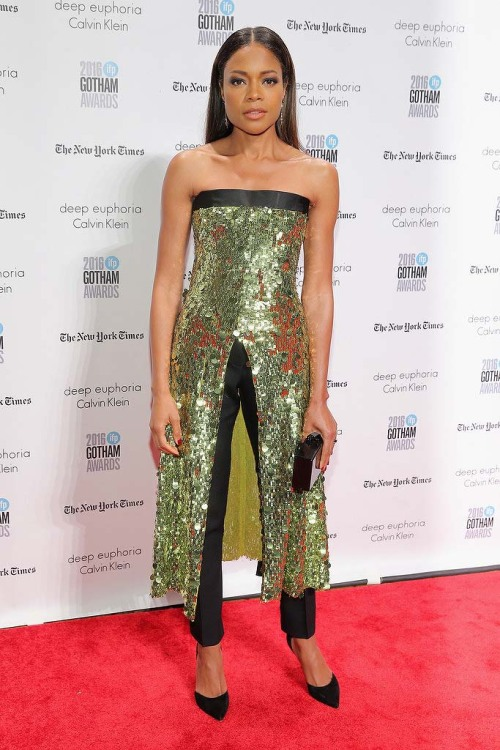 dailyactress: Naomie Harris attends IFP's 26th Annual Gotham