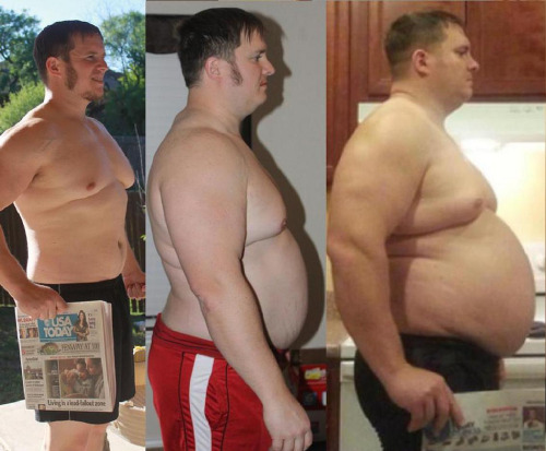 obese gainer superchub men