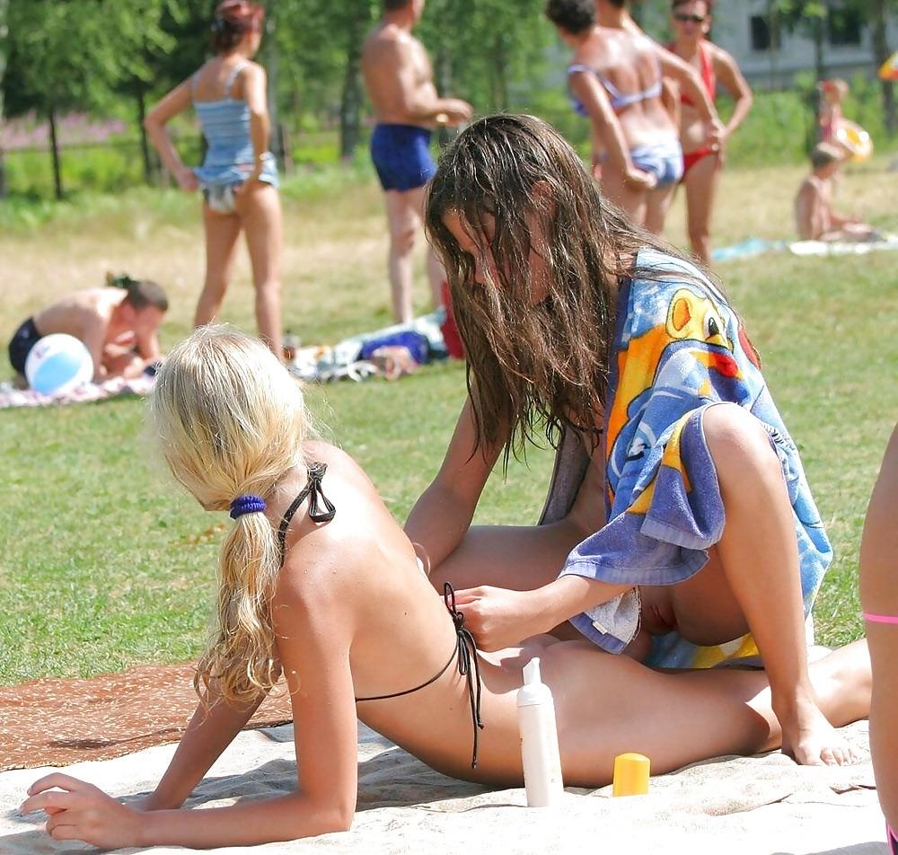 unaware voyeur nudity walmart