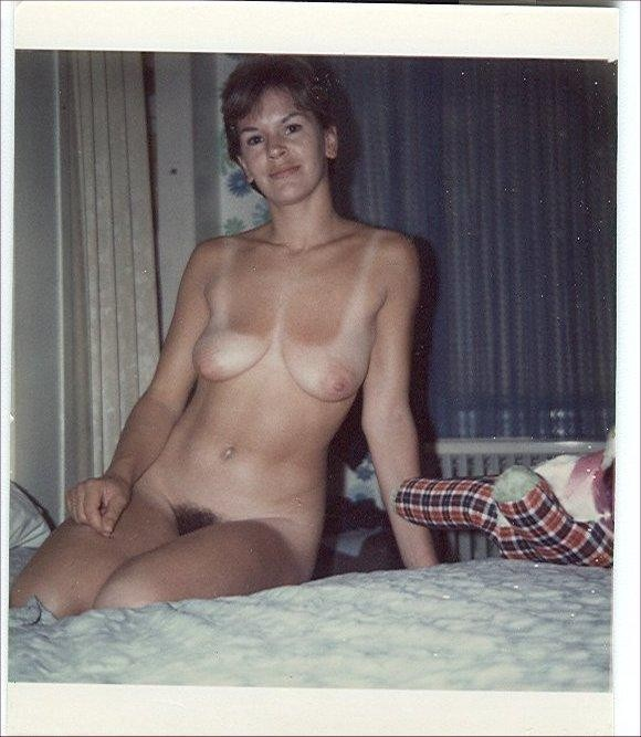 mother daughter vintage nude polaroids