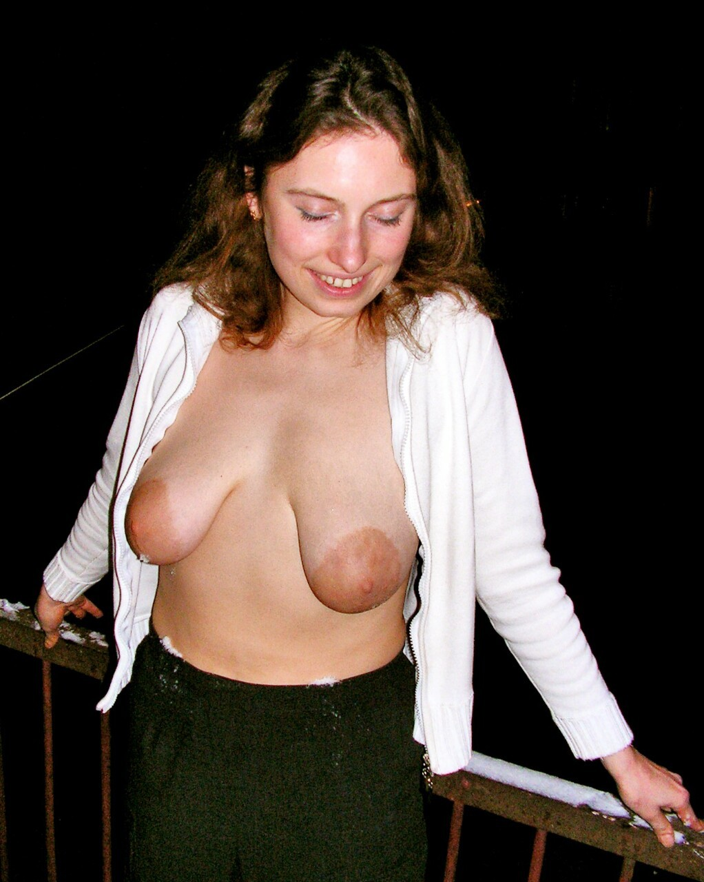 droopy breasts amateur