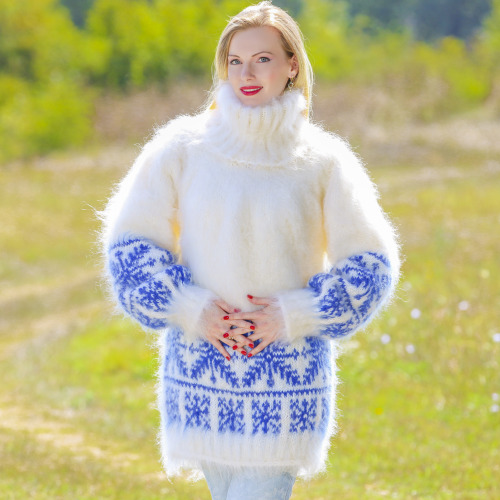 super fuzzy mohair sweaters