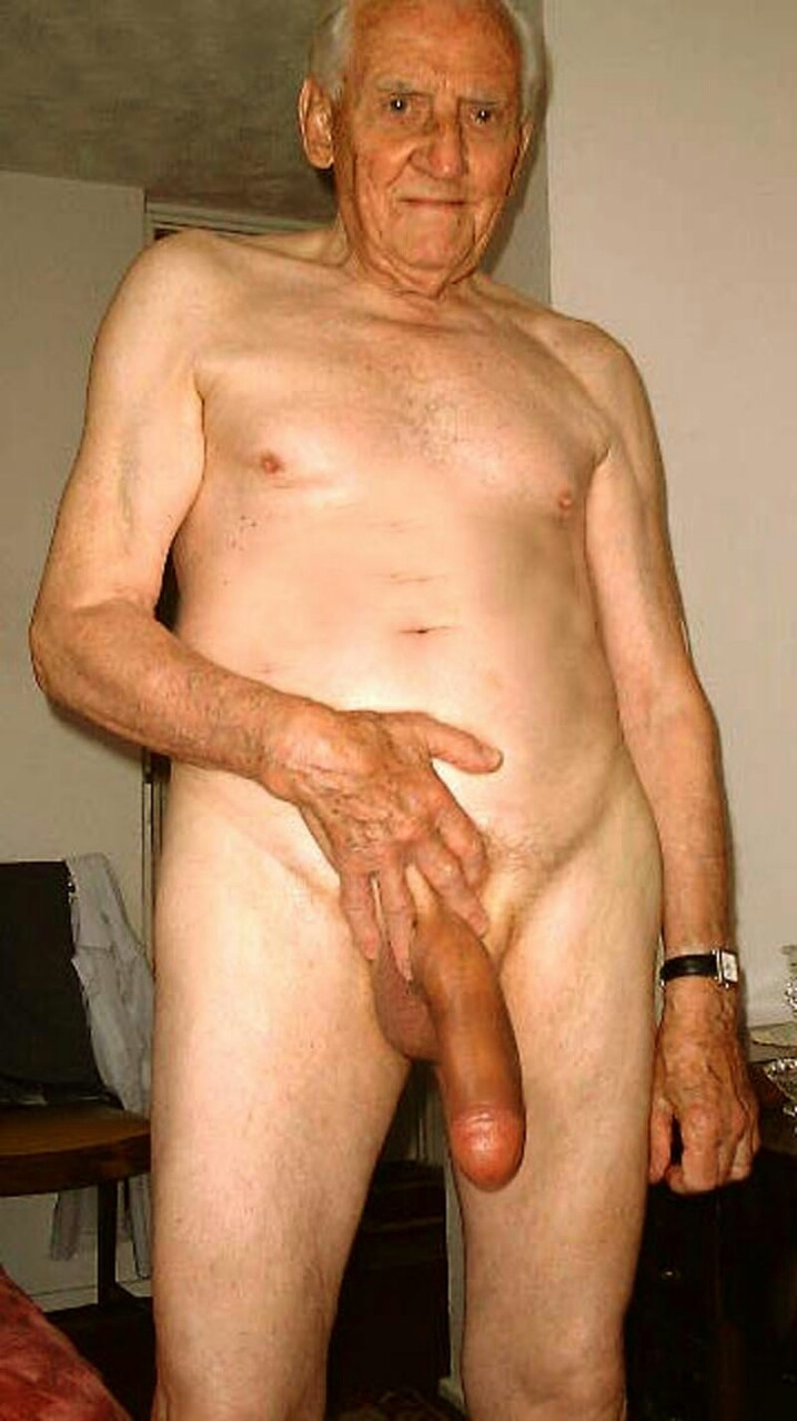 Old men big cock pics how