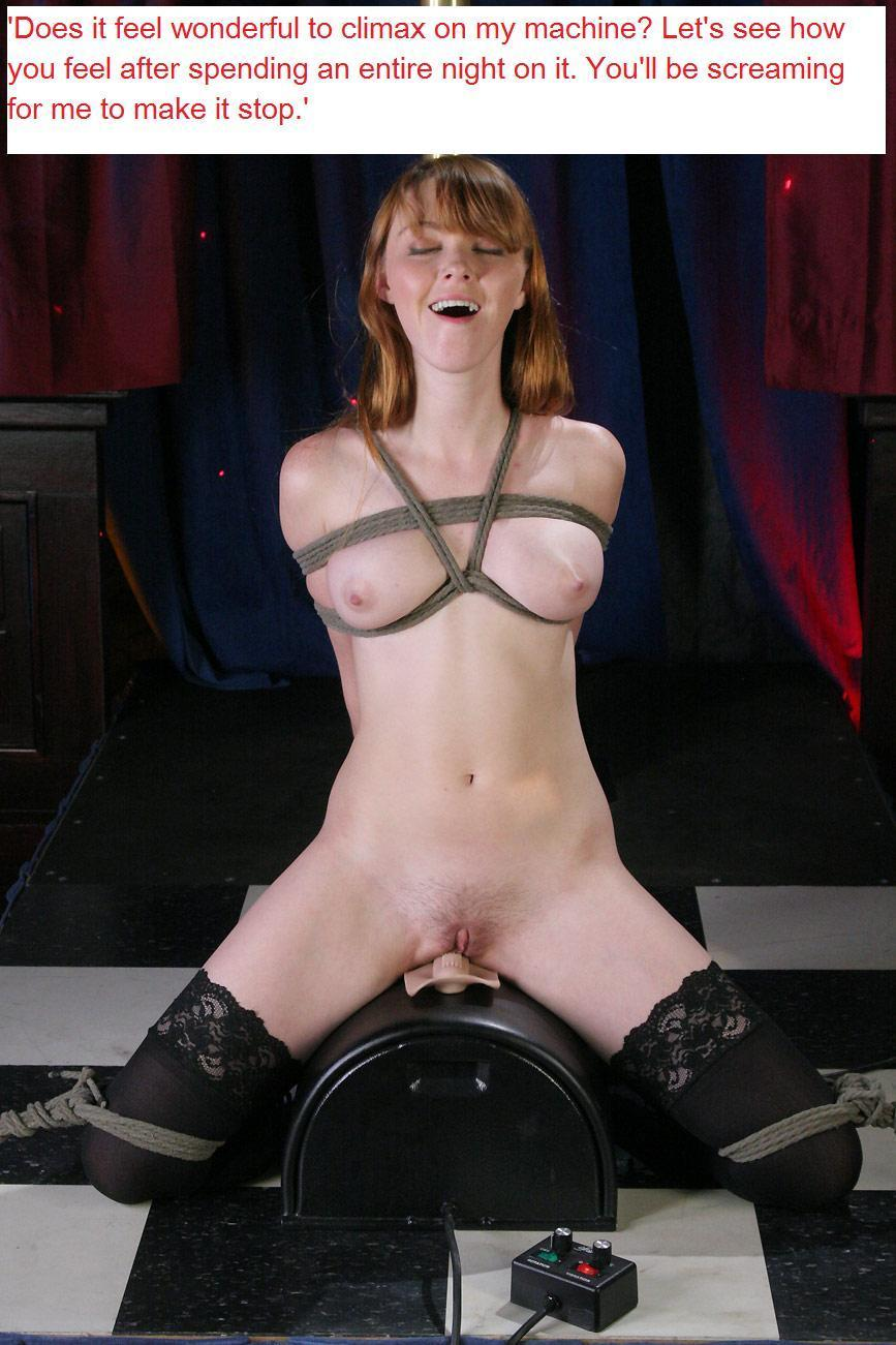 Sybian forced orgasm captions apologise, but