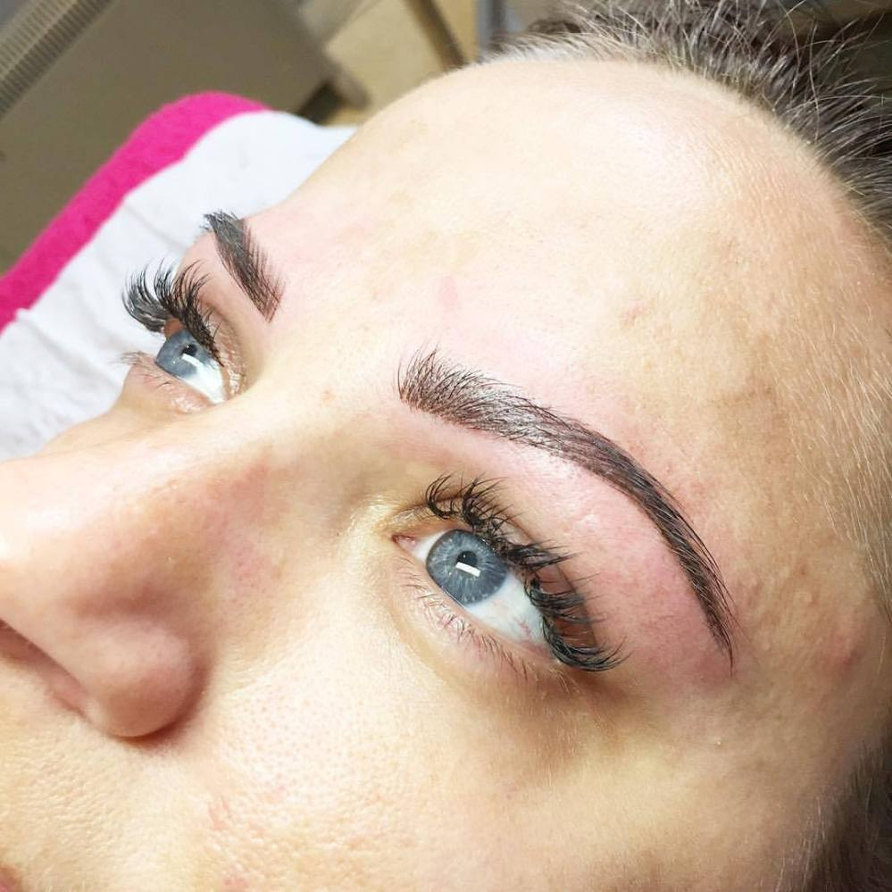 Brows Tattooing with @uniquecosmetictattooing