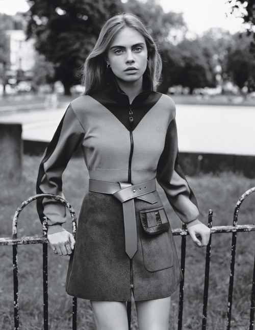 wmagazine: Ladies of LondonCara Delevingne by Alasdair