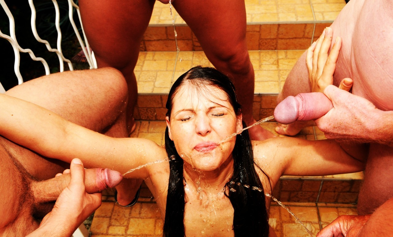 2 anal cumsluts used by 4 bbcs interracial orgy 3