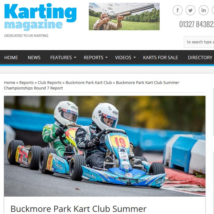 Buckmore Park Kart Club Summer Championships Round 7 Report