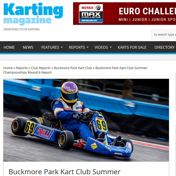 Buckmore Park Kart Club Summer Championships Round 6 Report
