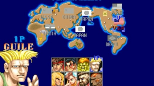 Street Fighter World Map    Maps on the Web Street Fighter World Map