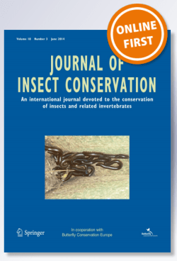 New paper in the Journal of Insect Conservation about the declines of undeterstory specialist moths and butterflies in Northern New Jersey. http://bit.ly/1oWFAUM