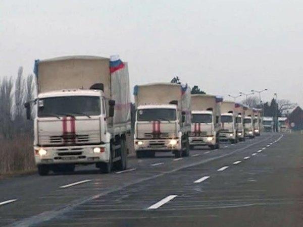 Гуманитарный конвой для посевных работ доставлен на территорию Донбасса