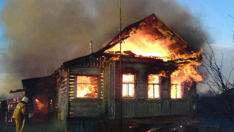 В Омской области пожар унес жизни 8-летней девочки и ее матери