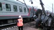 В Красноярском крае произошло ДТП с участием скоростного поезда и грузовика