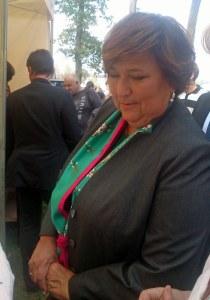 Pani Prezydentowa Anna Komorowska
