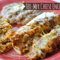 Family Recipe - Easy Tex-Mex Cheese Enchiladas
