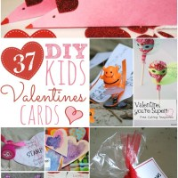 37 DIY Kids Valentines Cards
