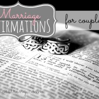 34 Positive Marriage Affirmations for Couples