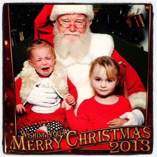 Santa, Abby, and Mac
