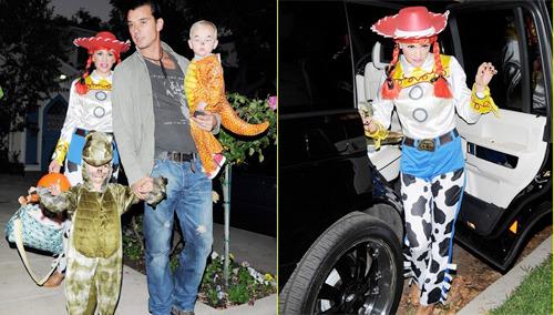 Gwen Stefani Halloween 2009