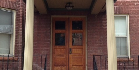 A Recent Door Refinishing Project