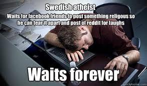 swedish atheist