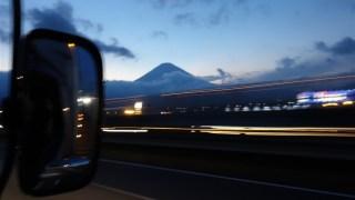 そこどいてよ!  夜の高速道 サービスエリア SA