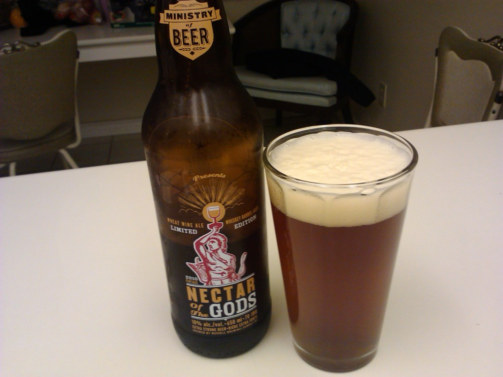 A Nectar Of The Gods Review -March 14, 2012 (2/2)