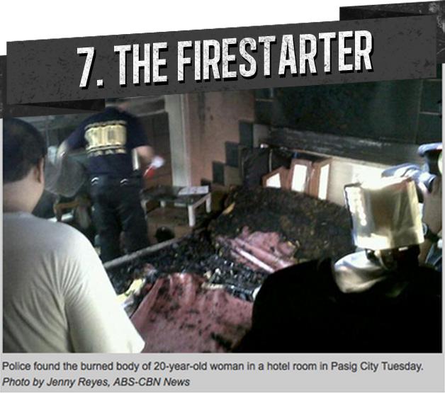 7. THE FIRESTARTER