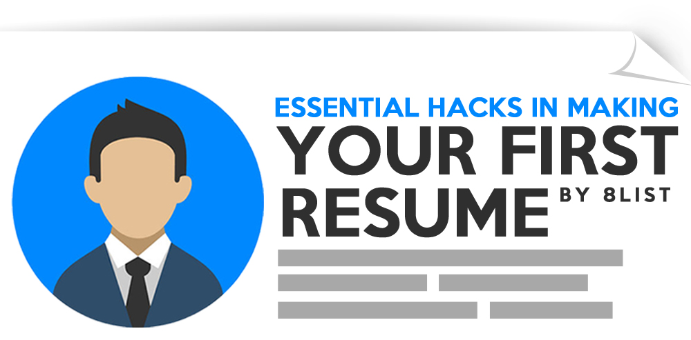 making your first resume