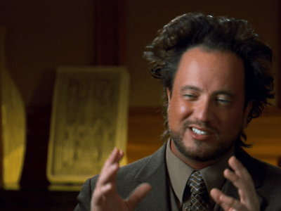 "Defying History >> 8 Things We Learned from Giorgio Tsoukalos of ""Ancient Aliens"""