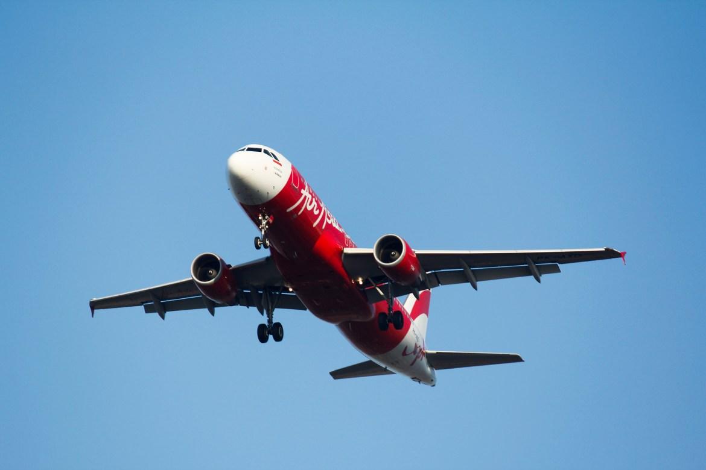 Flugzeug von AirAsia