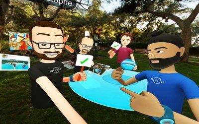 facebook-anuncia-spaces-su-primer-producto-de-realidad-virtual