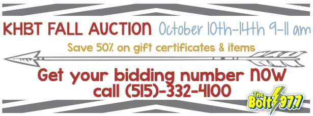 Fall Auction Cover photo