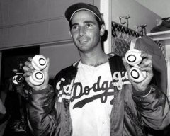 Sandy Koufax was one of the most dominating pitchers in baseball history.