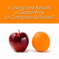 Is Using Test Results a Good Way to Compare Schools?
