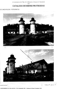 aVA - Catálogo PGOU VA 1996 - Granja Escuela Jose Antonio - 1